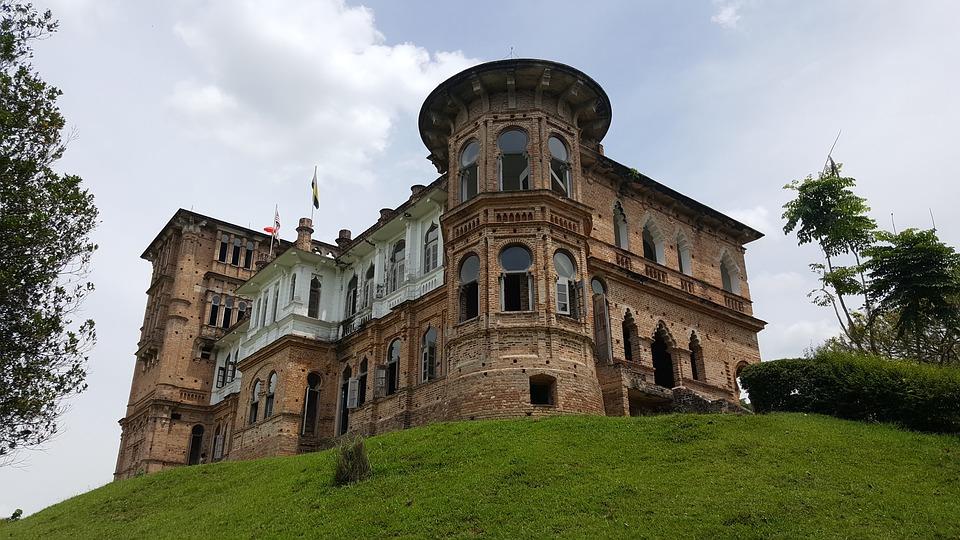 ペラ州ケリーの宮殿