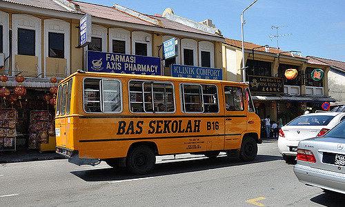 マレーシアのスクールバス事情