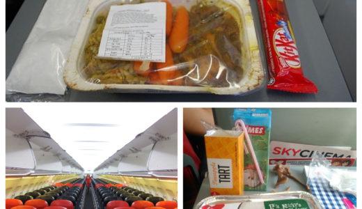 【 エアアジア 】クアラルンプール発の機内食のメニューと値段 ( 2017年9月版 )