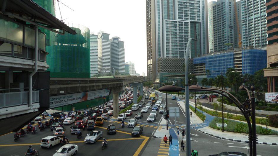 マレーシアの道路は危険がいっぱい