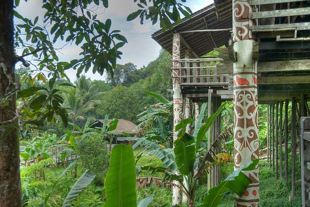 マレーシアサラワク文化村