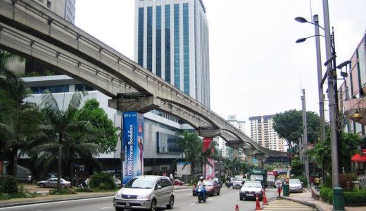 マレーシアでの運転、危険な周りの車に注意!