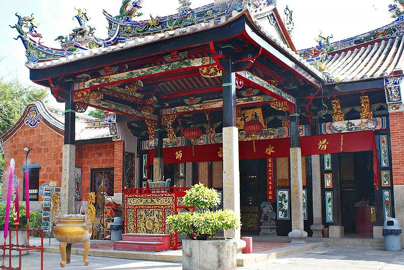 マレーシア ペナンのスネーク寺院