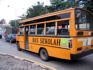 マレーシアのスクールバス