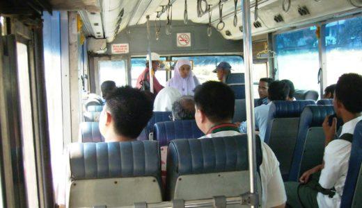 ジョホール・バルでバスに乗って移動してみた