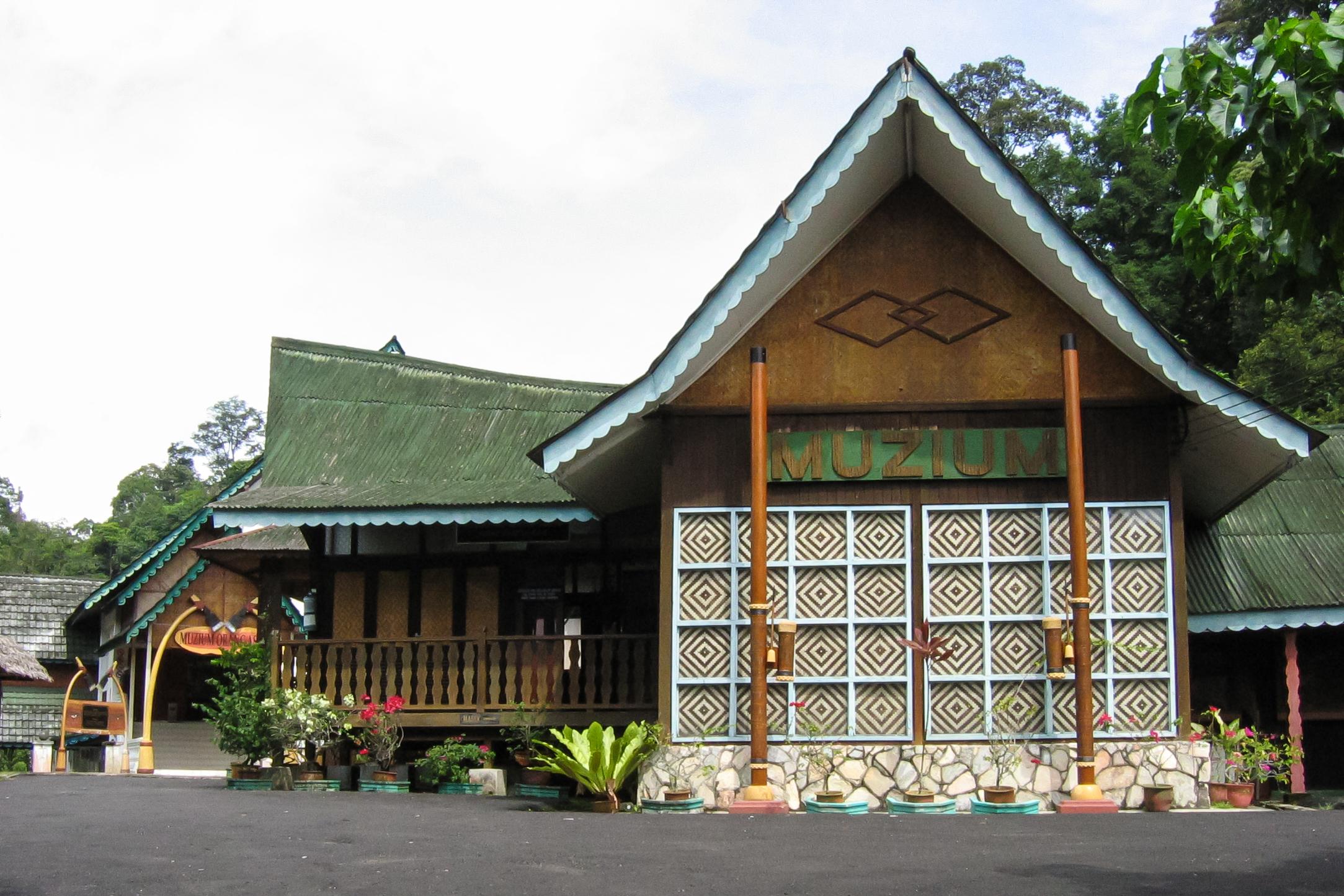 マレーシアのセランゴール州にあるオランアスリ博物館