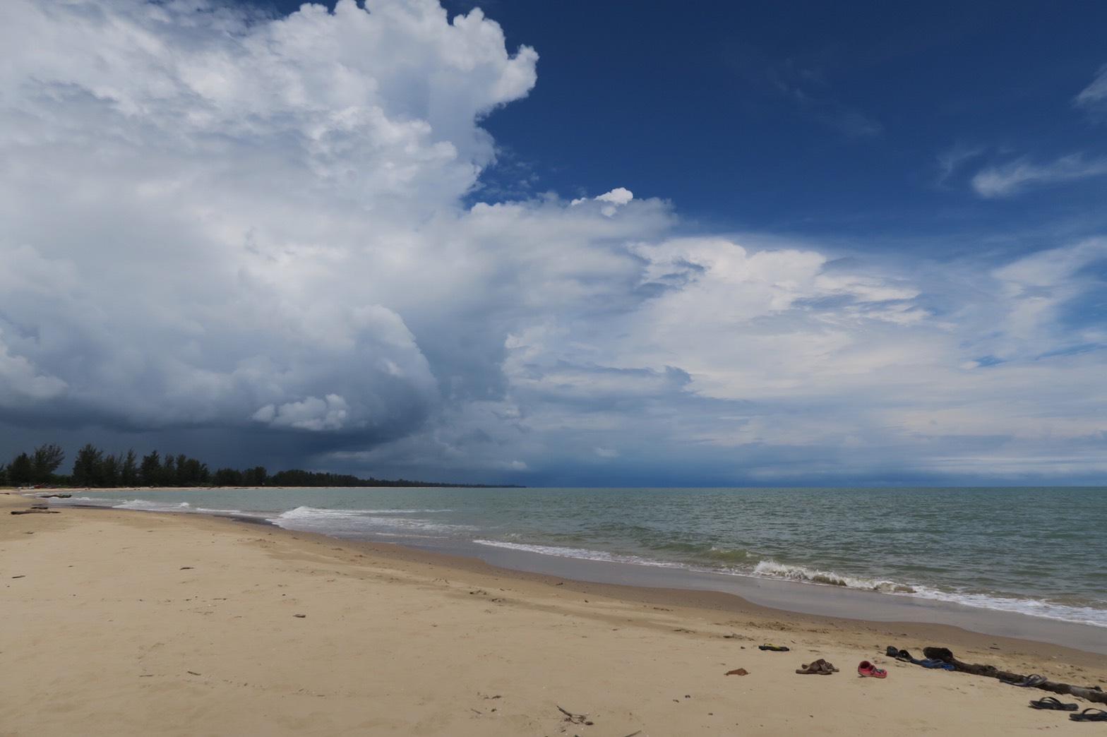 ミリのビーチ