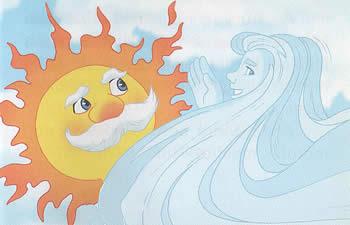 マレーシア版北風と太陽