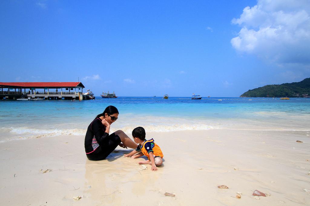 マレーシアのリゾートアイランド
