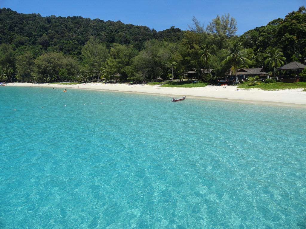 マレーシアのプルフンティアン島
