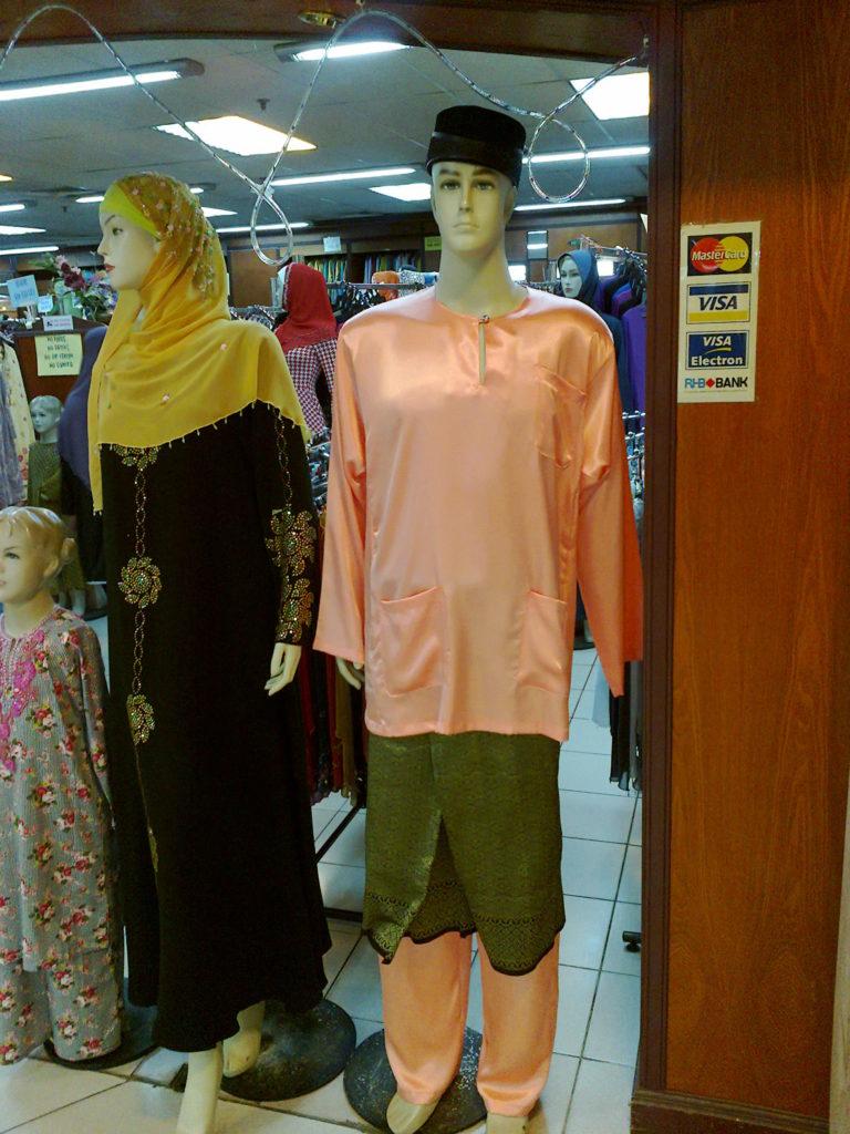 マレーシアのマネキン