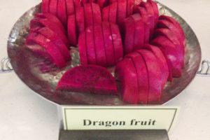 カットしたドラゴンフルーツ