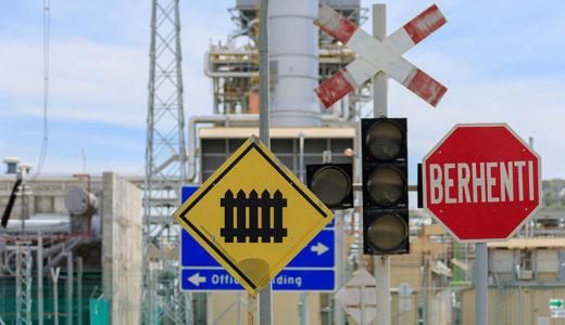 マレーシアの道路標識②