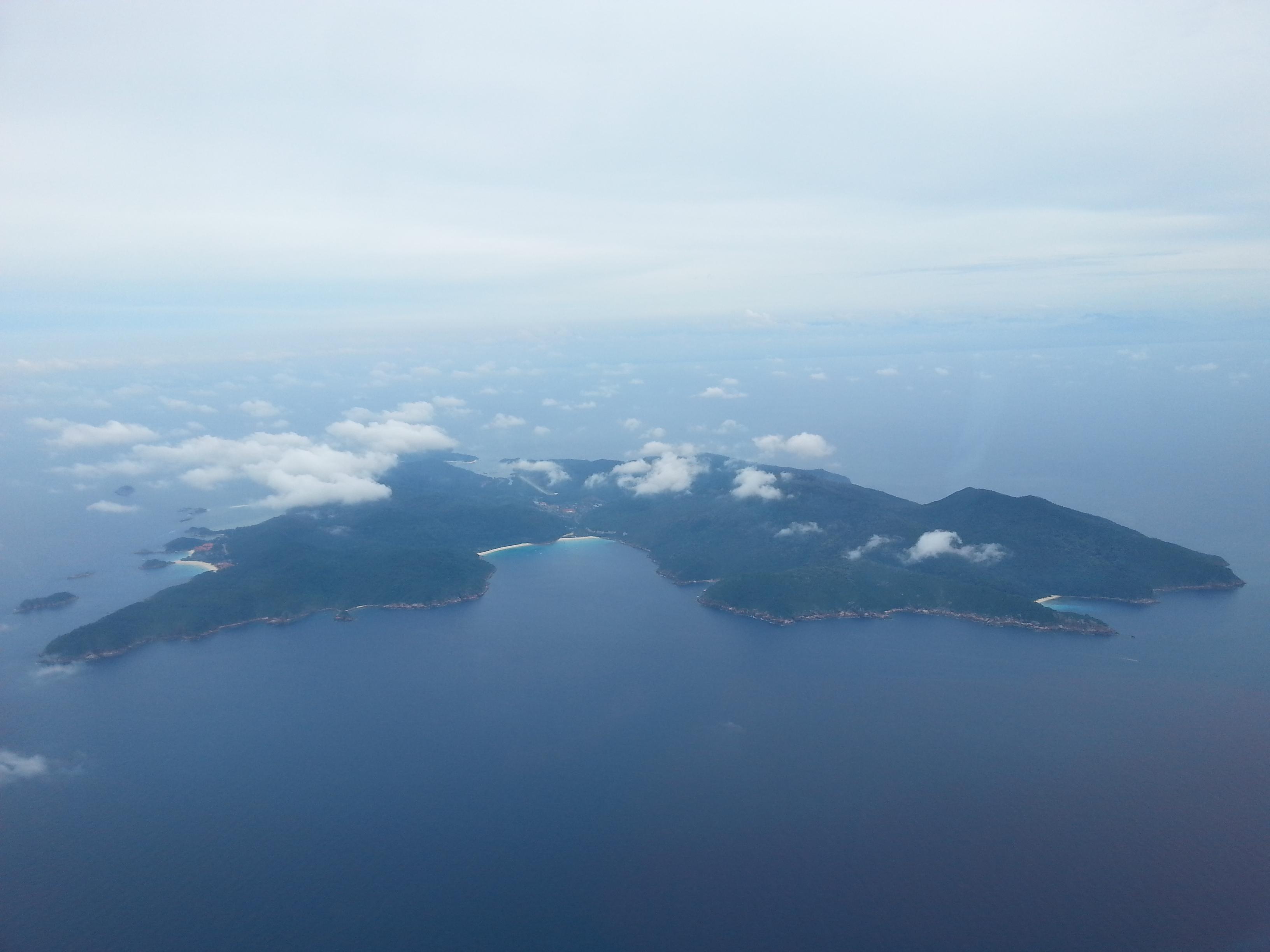 マレーシアのレダン島