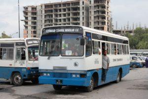 マレーシアのバス