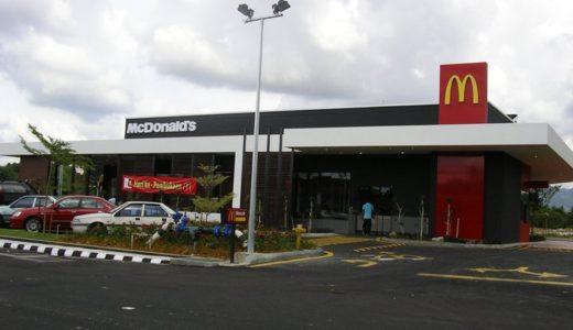 マレーシアでもマクドナルドにお世話になってます。