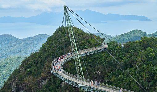 【 観光 】マレーシアで一番すごい橋「ランカウイ スカイブリッジ」