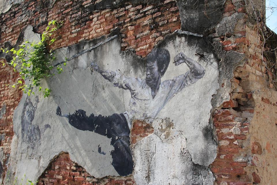 ペナン島のストリートアート