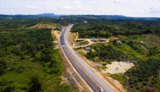 【 2018.8 更新 】ボルネオ島を貫通するパンボルネオ ( 高速道路 ) 建設工事が着々と進行中