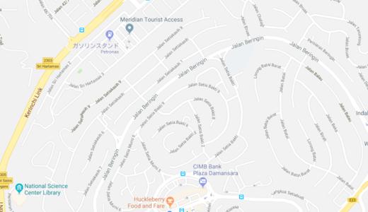 マレーシアの道路名や地名は覚えやすい?