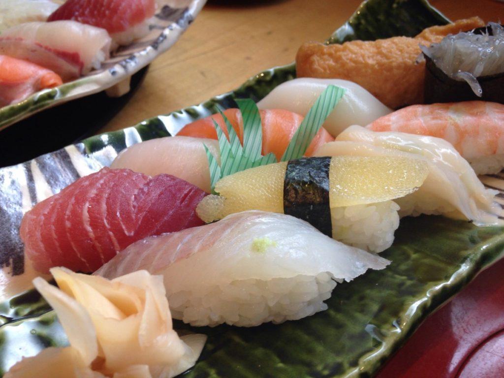 日本の握り寿司