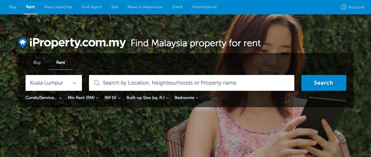 オンラインで賃貸を探すならiproperty