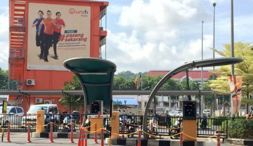 マレーシアの日常の風景