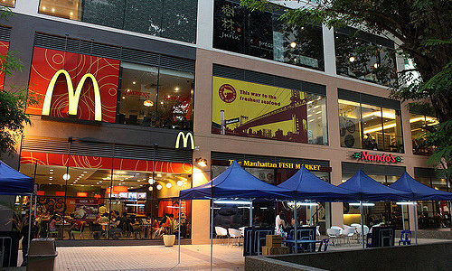 マレーシアのマクドナルドでメキシカンバーガー販売中!