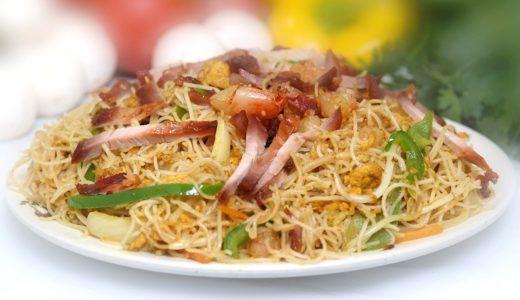 マレーシアで5リンギット以内で食べれるビーフンゴレン(Bihun Goreng)とはどんな料理?