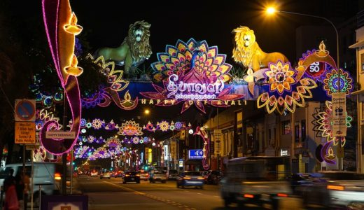 マレーシアのヒンズー教のお祭りデパバリ
