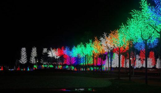 【 マレーシア観光 】デジタル照明の町として知られる「アイ・シティ」でイルミネーションを楽しむ!