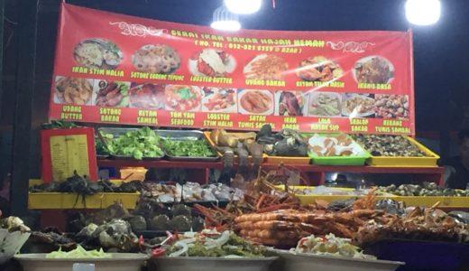 コタキナバルのフィリピーノ(ナイト)マーケットで新鮮な魚介類を堪能する!
