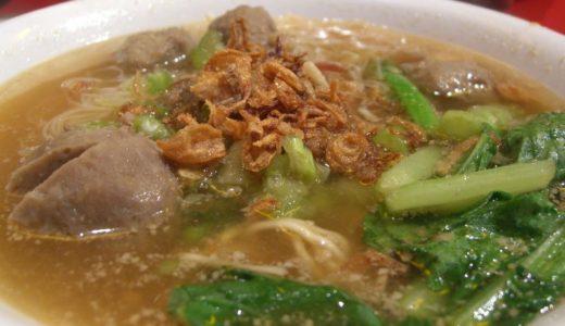 マレーシアでも食べれるインドネシア料理「バクソ」はインドネシアの屋台の味!