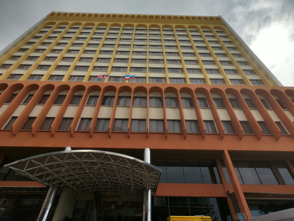 コタキナバルでおすすめのガヤセンターホテル
