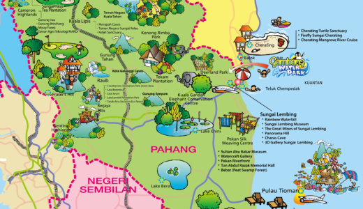 パハン州 (Pahang) の旅情報