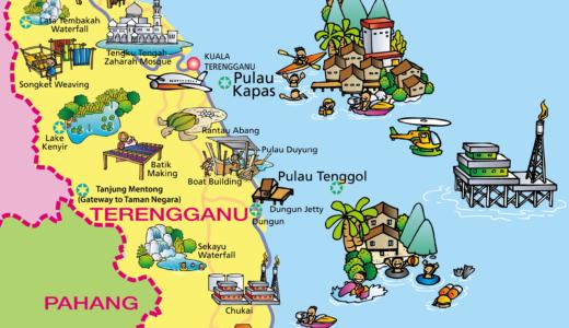 トレンガヌ州 (Terengganu) の旅情報