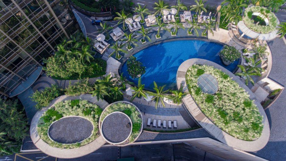 マレーシアクアラルンプールクラブラウンジのあるホテル