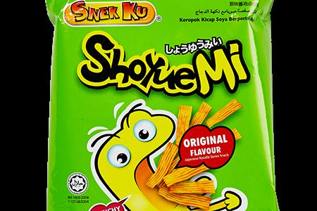 国民的人気のスナック【醤油ミー(ShoyueMi)】はマレーシアのベビースターラーメン?