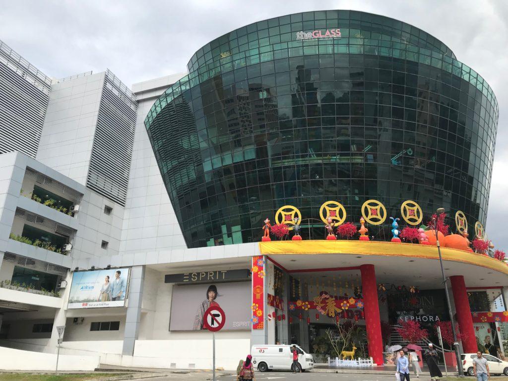 サバ州コタキナバルにあるショッピングモール「スリアサバ」
