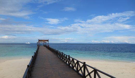 マレーシアサバ州サンダカンにあるシパダン島