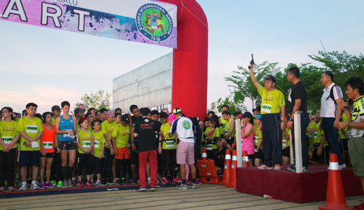 ランナー必見!ボルネオ島の大地で国際マラソンを走ろう!
