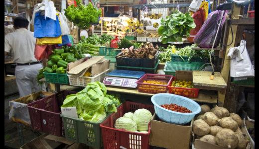 常夏マレーシアの野菜と地元流の食べ方