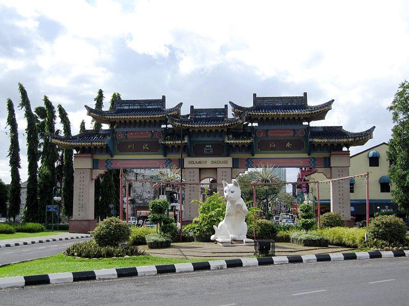 マレーシア観光でおすすめのクチンはボルネオ島のサラワク州にある