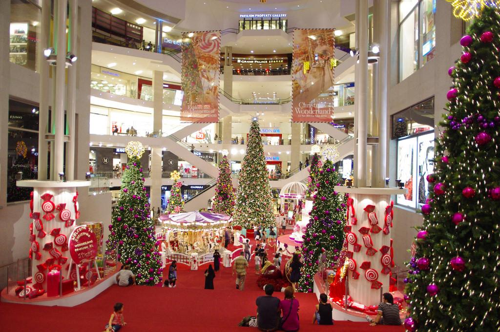 ブキッビンタンで一番人気のショッピングモール、パビリオン