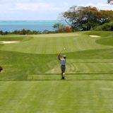 マレーシアのサバ州でリゾートホテル併設のゴルフ場