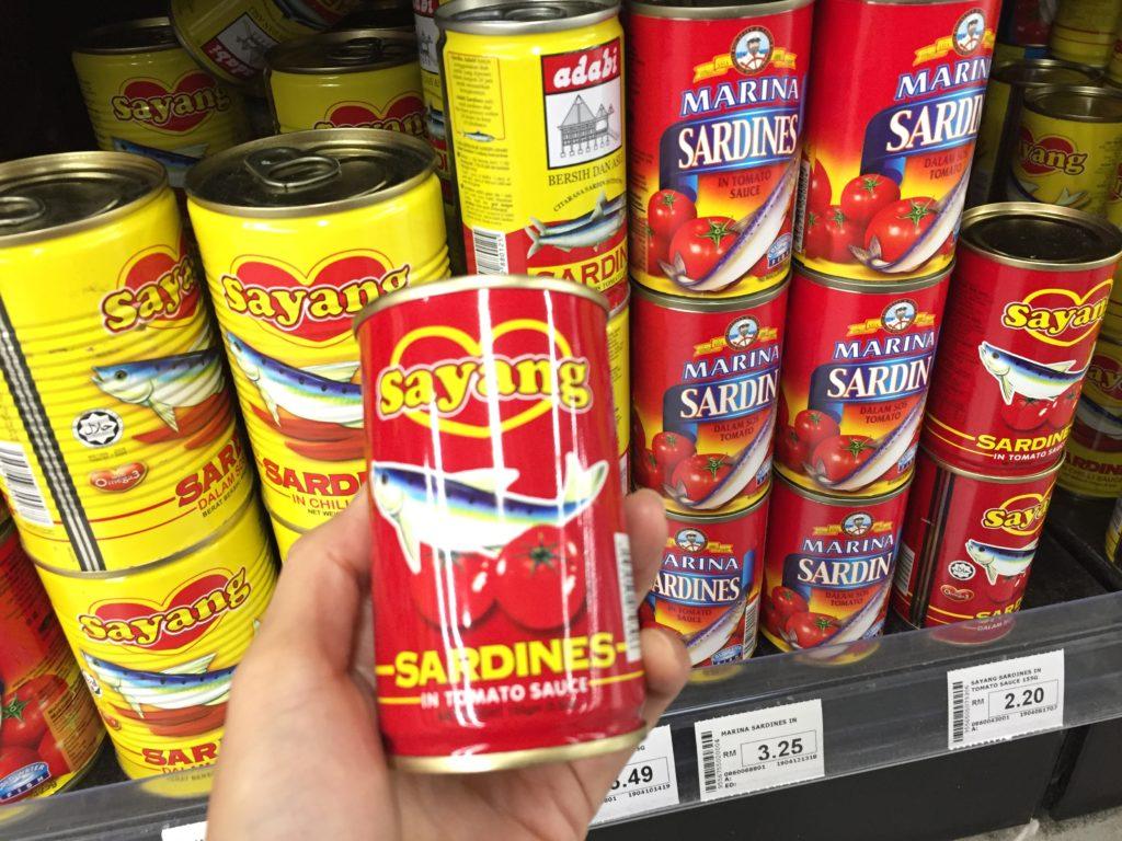 イタリアンな料理にも使えるイワシの缶詰