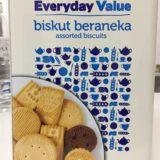 マレーシアテスコのプライベートブランドのクッキー