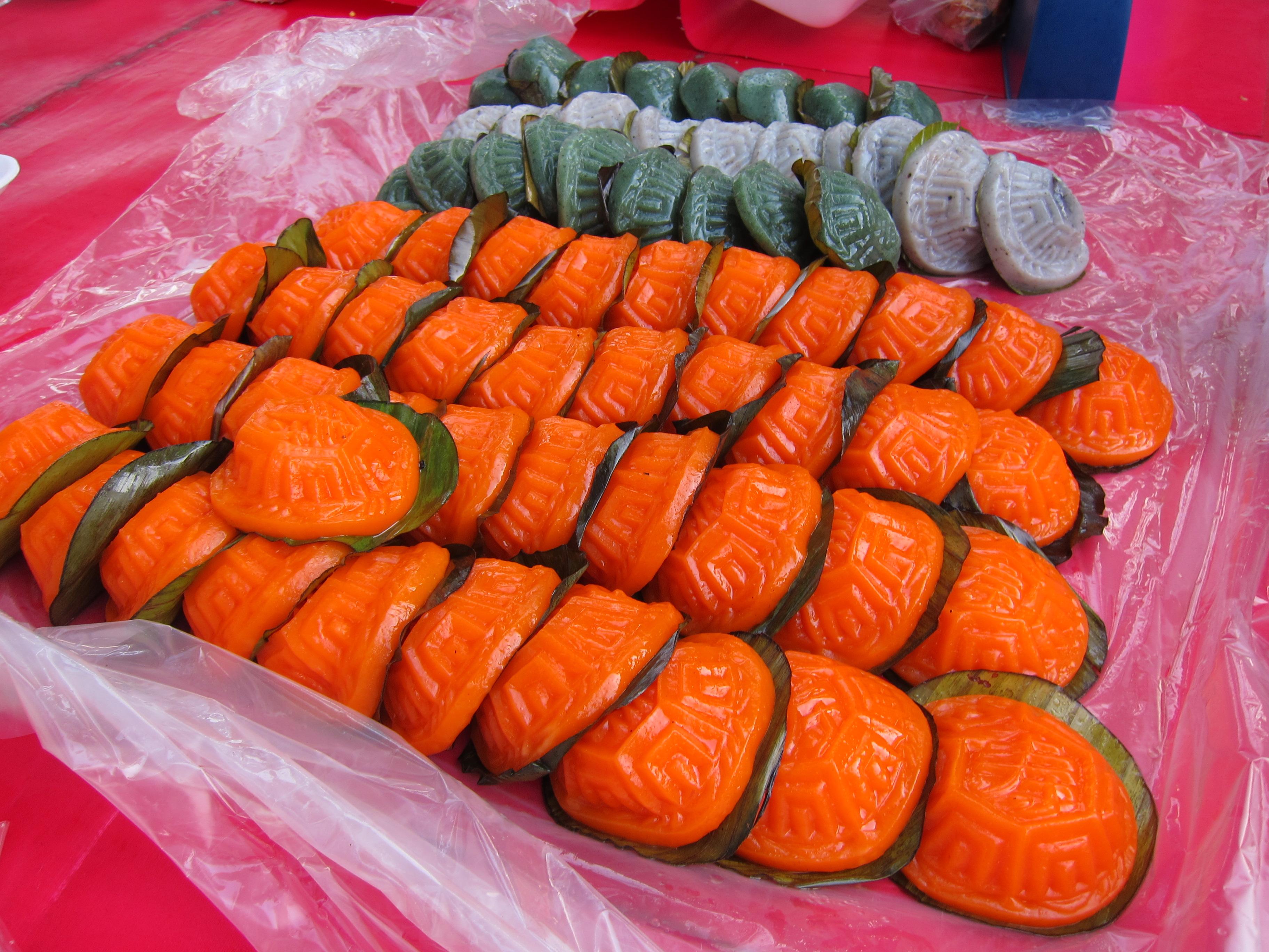 マレーシアの伝統菓子クエアンクー