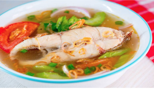 マレーシアで魚料理を簡単に作りたい!白身魚のスープレシピ【固形マギーキューブ使用】