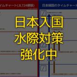 日本入国時の水際対策が強化!書類不備で自国入国拒否も!